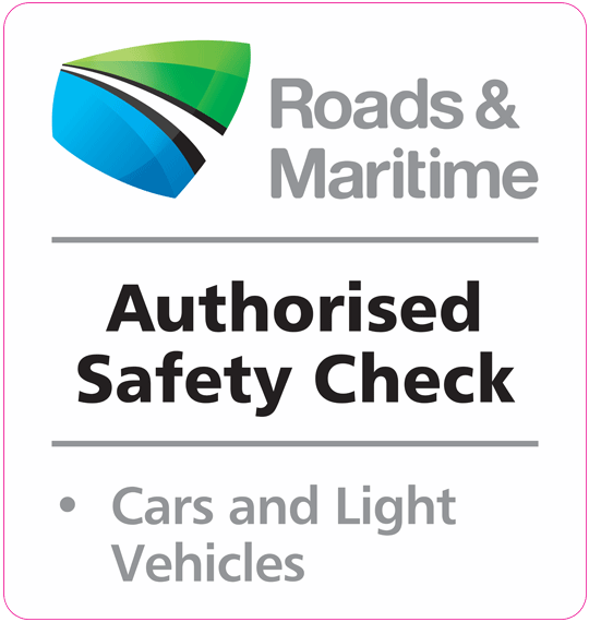 Authorised Road Safety Check Logo